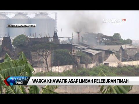 Lapak Pembakaran Arang & Peleburan Timah Ada di Sekitar SDN Cilincing 07, Warga Khawatir