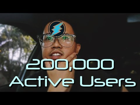 200k Active Electroneum Users!