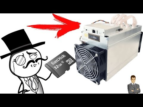 Как прошить asic Bitmain Antminer L3+ SD картой! / Майнинг 2019 litecoin (ltc) на scrypt