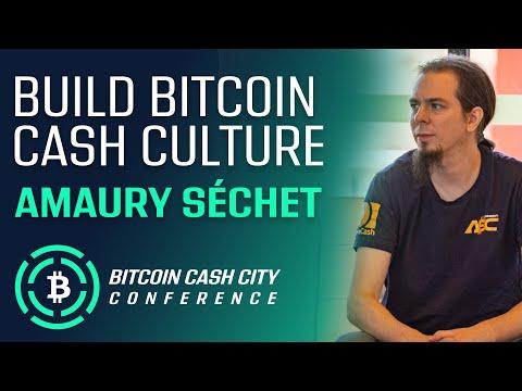 Build Bitcoin Cash Culture – Amaury Séchet