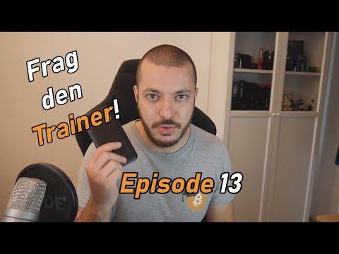 Frag den Trainer! Episode 13 | IOTA Alltagstauglichkeit, Coins verdienen mit Spiel und vieles mehr!