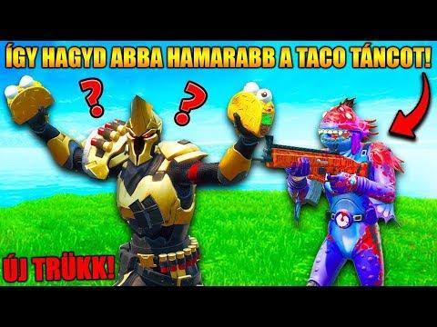 ÍGY Hagyd Abba HAMARABB A Taco Táncot, Mint Mindenki MÁS! | Fortnite BCC Reakció