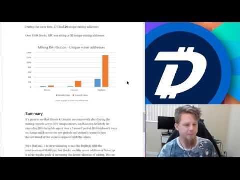 DigiByte Update – #72 – Mining decentralization through unique miners