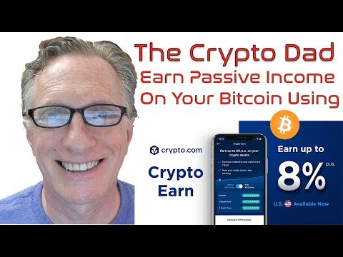 Earn Passive Income on your Bitcoin Holdings Using Crypto Earn on Crypto.com