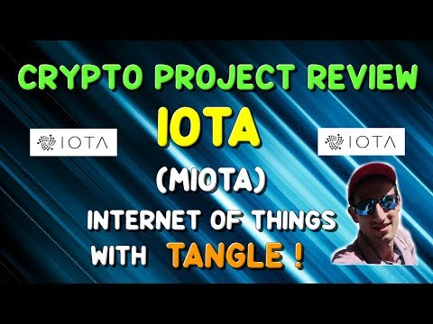 IOTA (MIOTA) – Cryptocurrency Review – Internet of Things with Tangle !