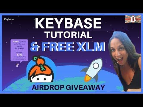 KeyBase Tutorial & Free Stellar XLM Airdrop