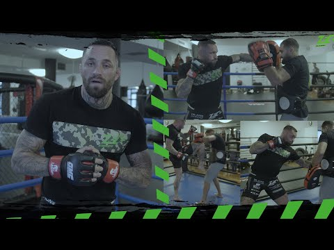 MMA training mit Christian Eckerlin I 3 effektive Knockout Kombinationen I