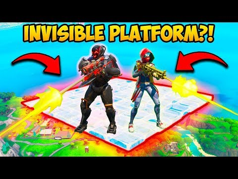 *INSANE* INVISIBLE PLATFORM SPOT!! – Fortnite Funny Fails and WTF Moments! #681