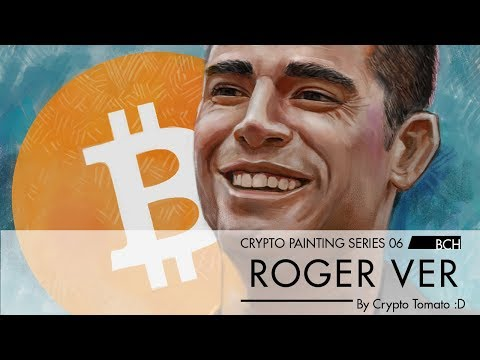Crypto Painting Series 06 – Roger Ver(Bitcoin Cash)