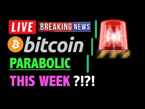 Bitcoin PARABOLIC MOVE THIS WEEK?🚨❗️LIVE Crypto Trading Analysis TA & BTC Cryptocurrency Price News