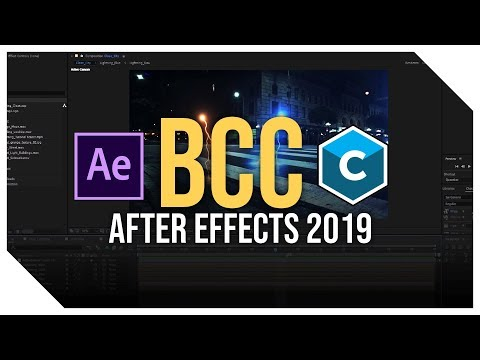 How to: BCC 12.0 *FREE DOWNLOAD* After Effects 2019