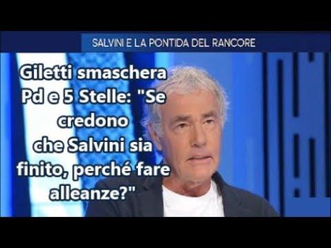 """M.GILETTI smaschera Pd e 5 Stelle: """"Se credono che Salvini sia finito, perché fare alleanze?"""""""
