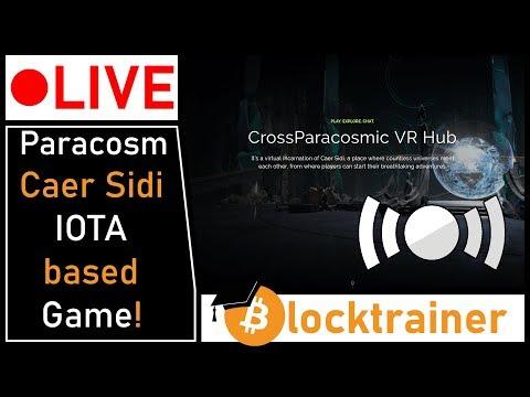 Erstes IOTA Spiel Live! Paracosm Caer Sidi!