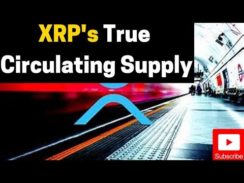 Ripple/XRP News: Intro To XRP & Circulating Supply