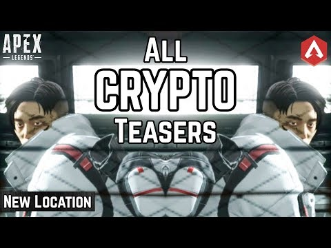 CRYPTO FOUND! ALL 10 OFFICIAL TEASERS & NEW LOCATION REVEAL! Apex Legends Update
