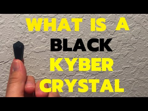 WHAT IS A BLACK KYBER CRYSTAL?!
