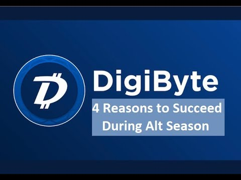 DigiByte – Alt Season Now? – 4 Reason #DGB Will Spike When the Bulls Run