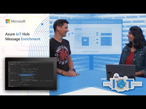 Simplify downstream processing with Azure IoT Hub message enrichments