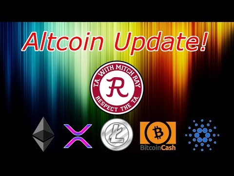 Bitcoin Letting XRP, Ethereum, Litecoin, Cardano, Monero and Altcoins Run! Crypto Technical Analysis