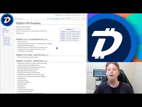 DigiByte Update – #77 – Huge under the hood update for iOS, DigiByte and Friend Ep01