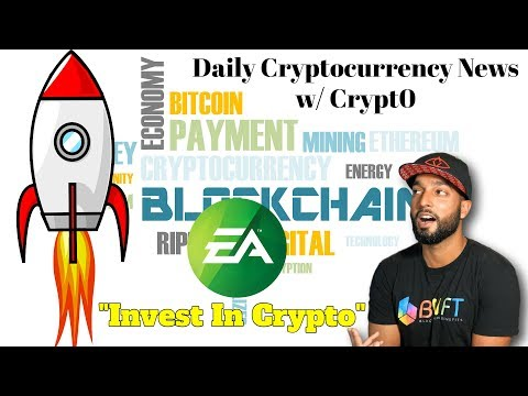 EA: Invest In Crypto | Bitforex BTC Giveaway | Coinbase Adding New Tokens | Much More Crypto News!