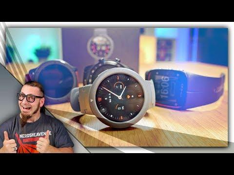 Günstiger Amazfit Smartwatch Einstieg mit GPS? Amazfit Verge Lite
