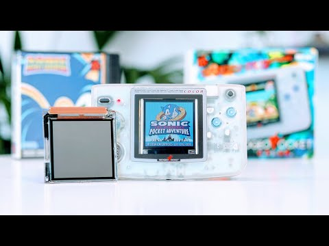 The Neo-Geo Pocket Color Got An UPGRADE!