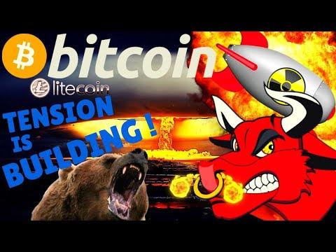 ?BITCOIN TENSION IS BUILDING?bitcoin litecoin price prediction, analysis, news, trading