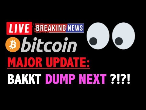 Bitcoin MAJOR UPDATE: BAKKT DUMP COMING?❗️LIVE Crypto Trading Analysis TA & BTC Cryptocurrency News