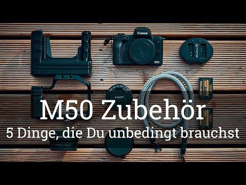 ⭐️ 5 Dinge, die Du für die EOS M50 UNBEDINGT haben musst