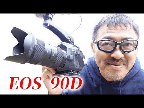 CANON EOS 90D APS-C デジタル一眼レフ カメラレビュー マック堺