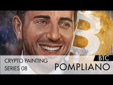 백트 개장 기념? Crypto Painting Series 08 – Pompliano(Bitcoin)