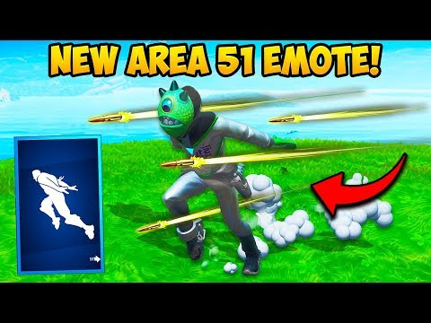 *NEW* AREA 51 EMOTE IS AMAZING!! – Fortnite Funny Fails and WTF Moments! #688