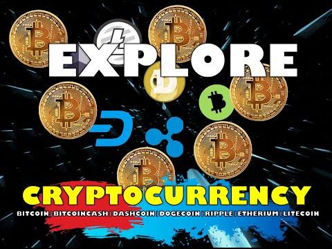 EXPLORE CRYPTOCCURENCY   BITCOIN,BITCOINCASH,DASHCOIN,DOGECOIN,RIPPLE,ETHERIUM AND LITECOIN