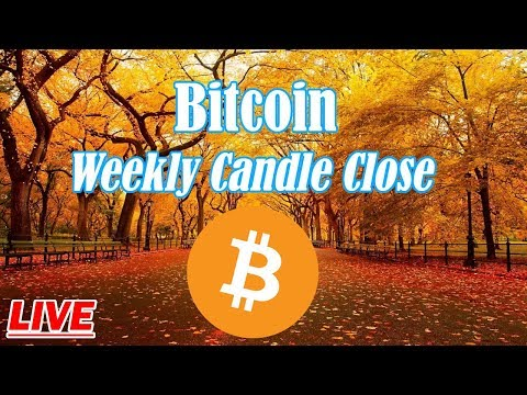 Bitcoin : Weekly Candle Close For BTC. Episode 687 – Crypto Technical Analysis