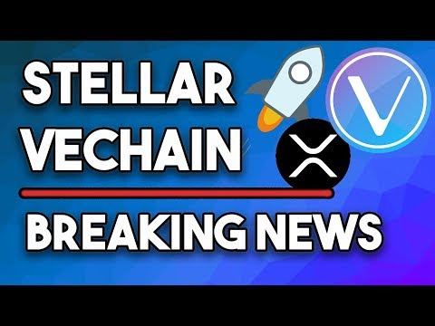 Stellar XLM Could Easily Do $0.14, VeChain Surge, Ripple XRP $1 Possible + Apple Pay & Bakkt Launch!