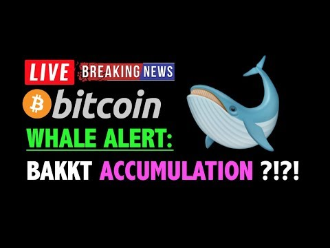 Bitcoin WHALES ACCUMULATING BEFORE BAKKT?❗️LIVE Crypto Trading Analysis TA & BTC Cryptocurrency News