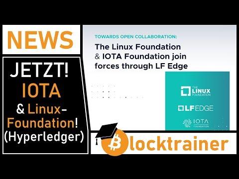 IOTA ist jetzt Partner der Linux Foundation, Hyperledger und LF Edge!