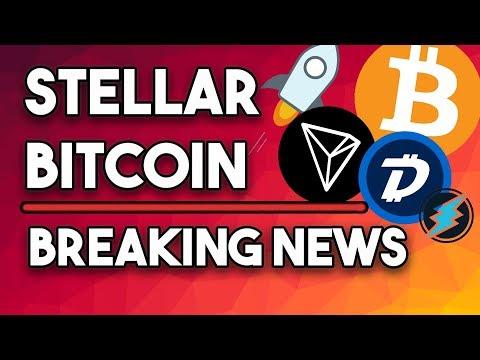 Stellar XLM Continues Descent, Bitcoin Towards $7k, Tron TRX Price, Digibyte DGB, Electroneum ETN