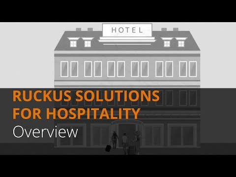 Ruckus IoT Solutions for Hospitality Overview