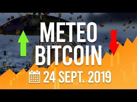 La Météo Bitcoin FR – Mardi 24 septembre 2019 – Crypto Fanta