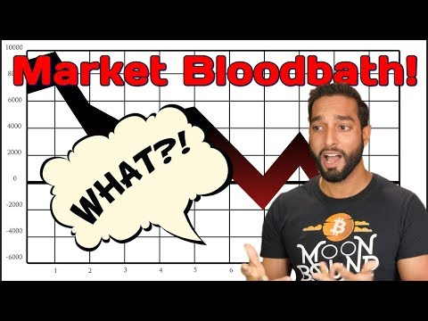 BLOODBATH!! Bitcoin, Ethereum, & Cryptocurrency Market Slammed – Daily Crypto News