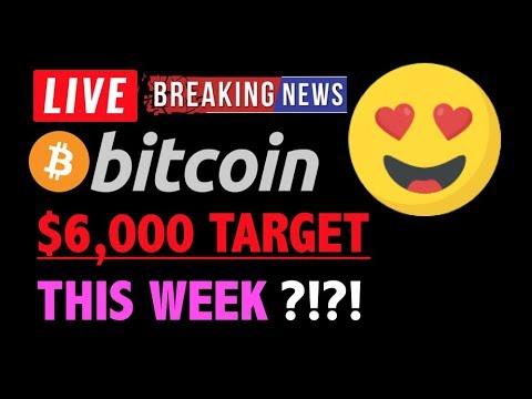 Bitcoin $6000 DUMP TARGET THIS WEEK?❗️LIVE Crypto Trading Analysis TA& BTC Cryptocurrency Crash News