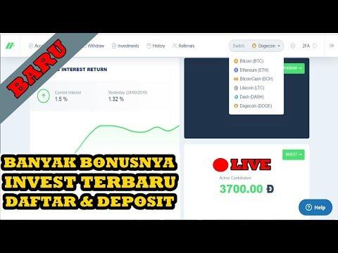 TERBARU INVEST JANGKA PANJANG II LIVE DEPOSIT 3700 DOGE II HODIUM BANYAK BONUSNYA