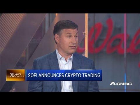 SoFi adds crypto trading to platform