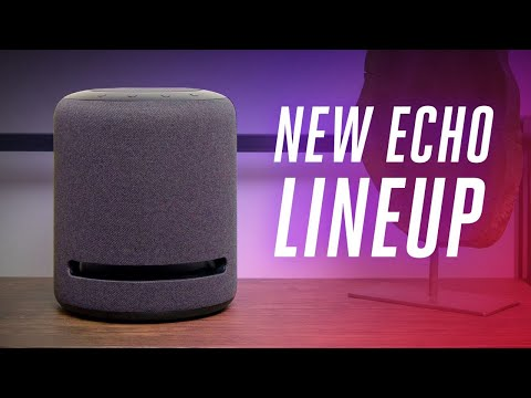 Amazon's new Echo lineup 2019