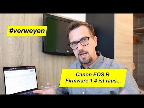 Canon EOS R Firmware-Update 1.4 ist raus…