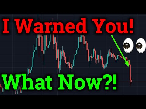 Bitcoin Dropped 20% To $8,000! What Now?! ETH/BTC Analysis! (Cryptocurrency/Altcoin News + Trading)