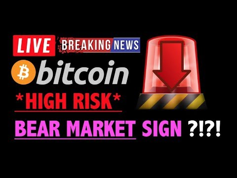 Bitcoin HIGH RISK OF ANOTHER BEAR MARKET?❗️LIVE Crypto Trading Analysis TA & BTC Cryptocurrency News