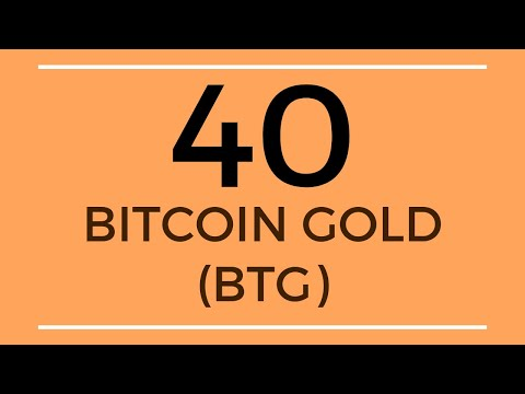 Bitcoin Gold BTG Price Prediction (26 Sep 2019)